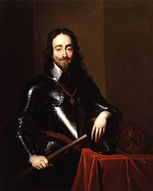 220px King Charles I by Sir Anthony Van Dyck